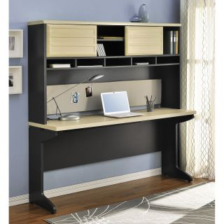 Altra Benjamin Credenza with Optional Hutch   Computer Desks