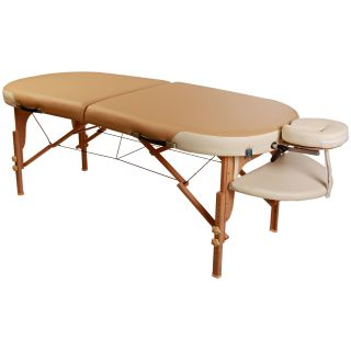 Ironman Simply Massage Oval Portable Massage Table   Massage Tables