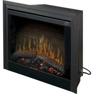 Dimplex 39 in. Standard Built In Electric Fireplace Insert   Electric Inserts