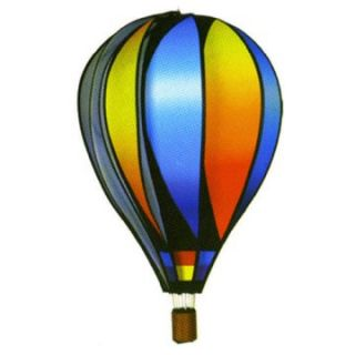 Premier Designs 22 in. Sunset Gradient Hot Air Balloon Wind Spinner   Wind Spinners