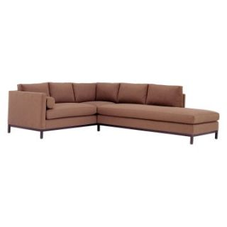 Lazar York Upholstered Sectional Sofa   Sectional Sofas