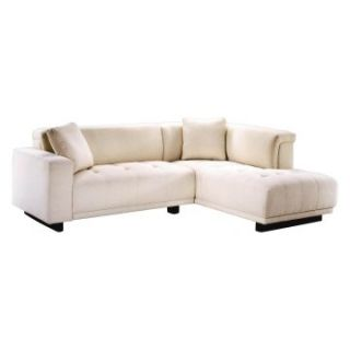 Lazar Mega Upholstered Sectional Sofa with Accent Pillows   Sectional Sofas