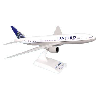 Skymarks 777 200 United Airlines Model Airplane   Commercial Airplanes