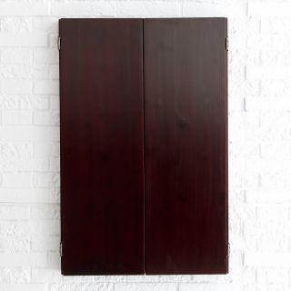Metropolitan Dart Board Solid Wood Cabinet for Electronic Dart Boards   Dart Board Cabinets