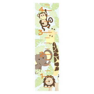 Jungle Friends Baby Growth Chart  WallPops Baby   Wall Decals