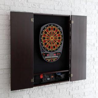 Arachnid Inter Active 3000 Electronic Dart Board with Cabinet   Electronic Dart Boards