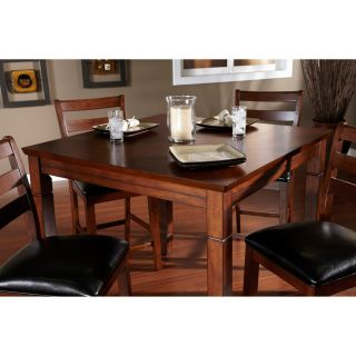 AHB Rosa Dining/Game Table with Flip Top   Mocha   Dining Tables