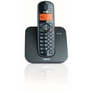 Philips CD1501B/38 DECT Schnurloses Telefon, schwarz Elektronik