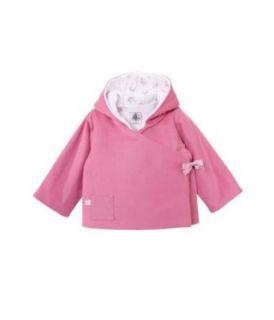 Petit Bateau Baby   M�dchen Jacke 30611, Gr. 56 (1 Monat, FR 54cm), Rosa (MAKEUP 19): Bekleidung