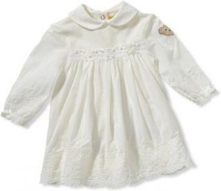 Steiff Baby M�dchen Kleid 6232108, Gr. 56, Beige (1610): Bekleidung