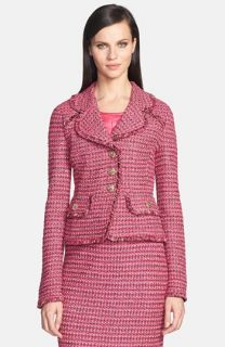 Weekend Max Mara Alcamo Stripe Tweed Jacket