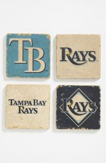 Tampa Bay Rays Marble Coasters (Set of 4)