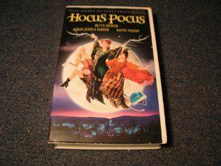 Hocus Pocus [VHS]: Bette Midler, Kathy Najimy, Sarah Jessica Parker, Omri Katz, Thora Birch, Kenny Ortega: VHS