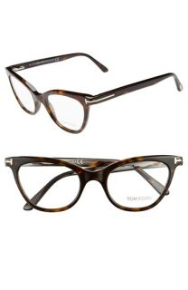 Tom Ford 49mm Cat Eye Optical Glasses (Online Only)