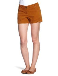 TOM TAILOR Denim Damen Hose/ Short & Bermuda 60179600071/cord shorts, Gr. 26, Gelb (3032): Bekleidung