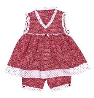Sterntaler 74998 Baby   M�dchen Babykleidung/ R�cke & Kleider, Gr. 74 Rot (rot) (rot): Bekleidung