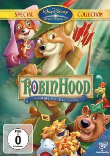 Robin Hood (Special Collection) Sir Peter Ustinov, Tom Acosta, Herbert Taylor, Larry Clemmons, Wolfgang Reitherman, James Melton, Brian Bedford, Phil Harris, Andy Devine, Monica Evans, Carole Shelley, Pat Buttram, George Bruns DVD & Blu ray