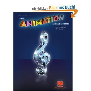 The Animation Collection: Piano/Vocal/Guitar (Pvg): Hal Leonard Publishing Corporation: Englische Bücher