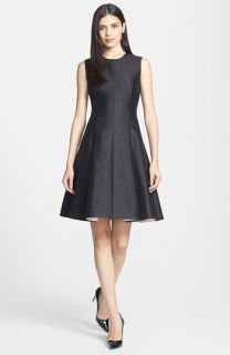 kate spade new york emma silk blend fit & flare dress