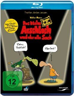 Das kleine Arschloch und der alte Sack   Sterben ist Scheisse Blu ray: Michael Schaack: DVD & Blu ray