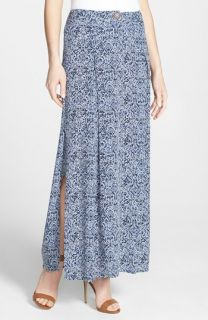 Nikki Rich Side Slit Maxi Skirt