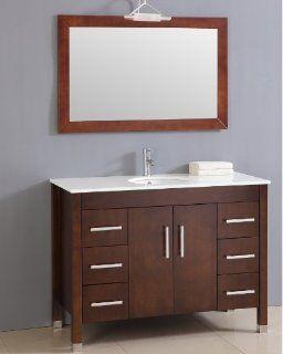 Bad M�bel Badezimmerm�bel Badm�bel Set Waschtisch aus Holz Bad Marmor Glas sofort 8116 Küche & Haushalt