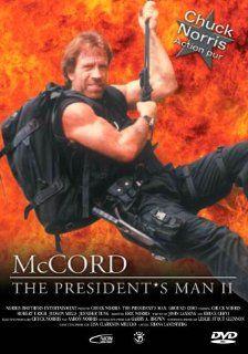McCord   The President's Man II Chuck Norris, Judson Mills, Jennifer Tung, Roxanne Hart, Joel Swetow, Alex Dodd, Eric Norris DVD & Blu ray