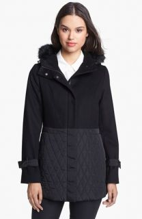 Kristen Blake Wool Blend & Quilted Coat ( Exclusive)