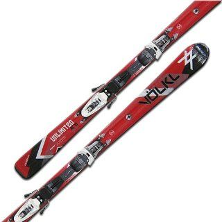 V�LKL UNLIMITED AC 10 + 3MOTION TL 10.0 Allround Ski Set 2010/2011: Sport & Freizeit