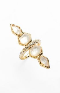 Alexis Bittar Miss Havisham Geometric Doublet Ring