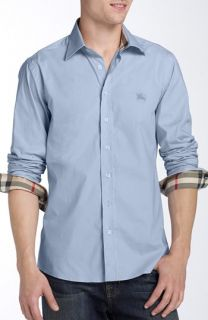 Burberry Brit Henry Classic Fit Cotton Blend Sport Shirt
