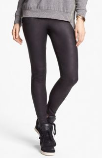 Mimi Chica Faux Leather Leggings (Juniors)