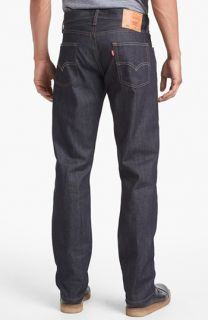 Levis® 504™ Raw Straight Leg Jeans (Rigid Envy)