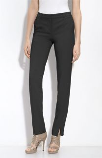 St. John Collection Jennifer Crepe Marocain Ankle Pants