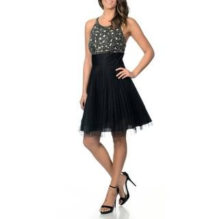 Betsy & Adam Women's Embellished Party Dress Betsy & Adam Prom Dresses