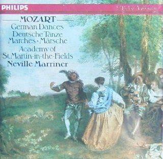 Mozart: German Dances + Marches K 189 600 605 602 335 nos 1 + 2, 509 , 571: Music