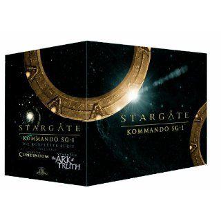 Stargate Kommando SG 1   Die komplette Serie inkl. Stargate Continuum & Stargate the Ark of Truth 61 DVDs Richard Dean Anderson, Michael Shanks, Amanda Tapping DVD & Blu ray