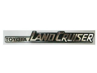 TOYOTA LAND CRUISER Cover Car Plastic Coating By Chrome Badge Emblem 3d Logo: Everything Else