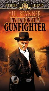 Invitation to a Gunfighter [VHS]: Yul Brynner, Janice Rule, George Segal, Alfred Ryder, Clifford David, Mike Kellin, Brad Dexter, Pat Hingle, Bert Freed, John A. Alonzo, Curt Conway, Clarke Gordon, Joseph MacDonald, Richard Wilson, Alvin Sapinsley, Elizabe
