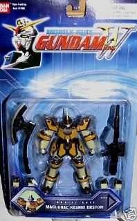 MOBILE SUIT GUNDAM WING MAGUANAC RASHID CUSTOM: Toys & Games