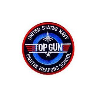 """United States Navy """"Top Gun"""" Fighter Weapons School Patch USN NAVY Iron on Sew Applique Embroidered patches Arts, Crafts & Sewing"""