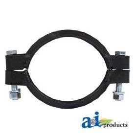 A&I   Muffler Clamp (W/ FLARED MUFFLER INLET). PART NO: A DR400: Industrial & Scientific