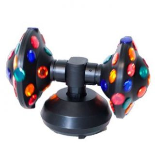QL 187 Dual Rotating UFO Disco Ball Party Light   Disco Ball Lamps