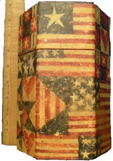 Lang's Bob's Boxes Primitives Candle Box Susan A. Winget OLD Glory Sw#194 0814029: Everything Else