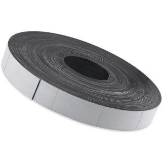 "Flexible Magnet Strip with White Vinyl Coating, 1/32"" Thick, 1"" Height, 200 Feet, Scored Every 2"", 1 Roll with 1, 194   1 x 2"" pieces: Industrial Flexible Magnets: Industrial & Scientific"