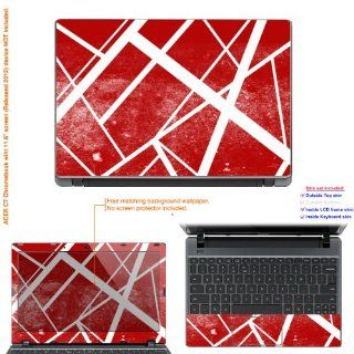 "Decalrus   Decal Skin Sticker for Acer Chromebook C7 with 11.6"" screen (IMPORTANT read: Compare your laptop to IDENTIFY image on this listing for correct model) case cover acerC7 195: Electronics"