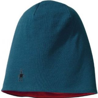 Smartwool Reversible Training Beanie, Deep Sea, 1SFM: Sports & Outdoors