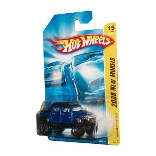 "Hot Wheels 1:64 Diecast car ""2008 NEW MODELS"" HUMMER H2 SUT BLUE 15 OF 40 (08 015/196): Toys & Games"