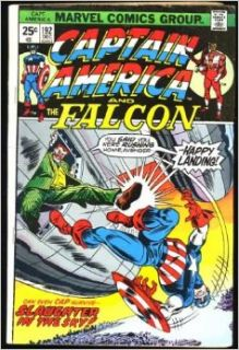 Captain America And The Falcon #192 (Mad Filght!): Stan Lee, Marv Wolfman, Frank Robbins, D. Bruce Berry: Books