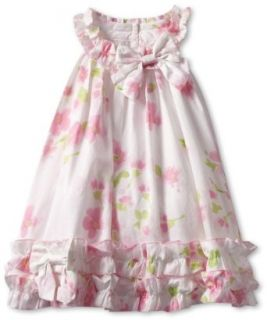 Biscotti Baby Girls Infant Watercolors Dress: Clothing